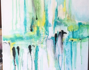 Abstract painting - Invasion