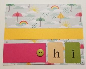 Hi Card, Umbrellas