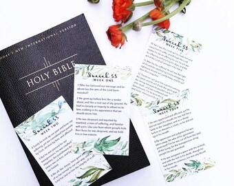 Lent Scripture Cards