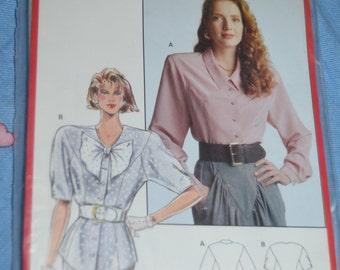 Burda  5527 Misses Blouse Sewing Pattern - UNCUT - Size 10 12 14 16 18 20 40