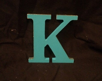Painted Wood Letter