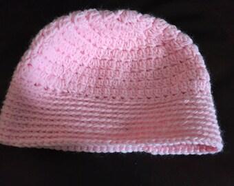 Childrens Age 7-10 Crochet Beanie/Hat/Toboggan