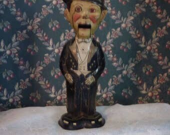 1930's Marx Charlie McCarthy wind up toy