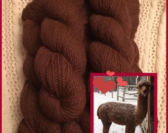 100% Maine Alpaca yarn