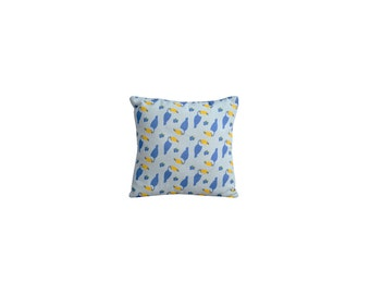 Printed Toucans cushion 20 x 20 cm, limited edition