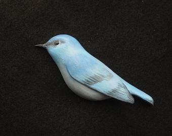 Wooden Mountain Bluebird magnet