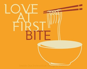 Love at first bite Wall décor for homes