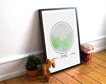 Landscape - Watercolour painting series
