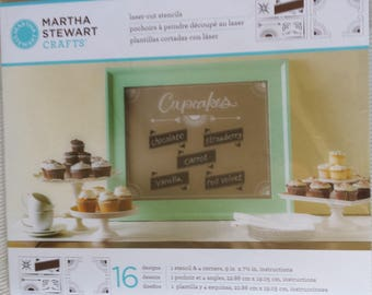 Martha Stewart Crafts - Laser-cut Sencils - 16 Designs
