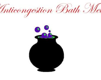 Anti-congestion Bath Melts