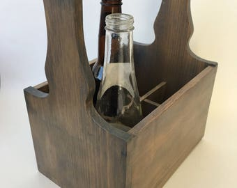 Beer Caddy, Six Pack Carrier, Beer Tote, Six Pack Holder, Beer Gift, Gifts for Him, Groomsman Gift, Gifts for Husbands, Gifts for Boyfriends