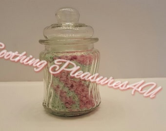 Lavender and Tahitian Vanilla Bath Salts!