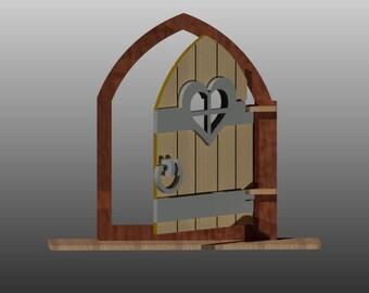 Fairy Door Pattern Etsy
