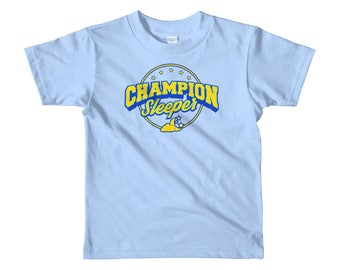 The Little Voice Champion Sleeper Kids T-shirt
