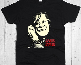 Janis Joplin Don't Worry Men T-shirt