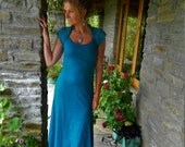 Blue Khaleesi dress, Teal cocktail dresses, Goddess clothing  Sexy wear, Daenerys clothes, Boho chic, Turquoise, Game of throne style