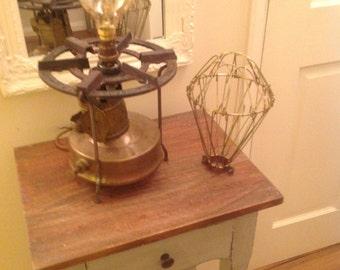 Unique Vintage Swedish Primus Stove Lamp
