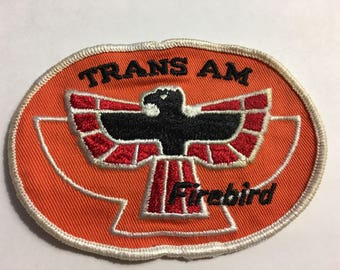 Pontiac TRANSAM FIREBIRD Screamin Chicken Logo NOS Patch