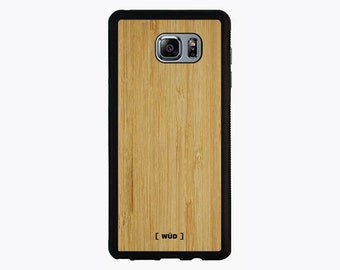 Wood Phone Case for Samsung Galaxy Note 5 - Bamboo