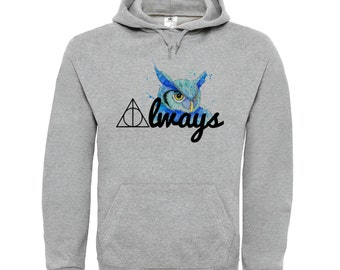 Harry Potter hoodie. Harry Potter quote after all this time Always hoodie