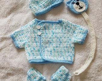 Newborn baby boy set