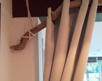 For curtain rod