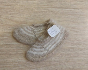 Therapeutic socks from dog hair