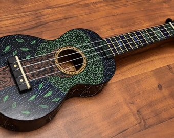 Tree Of Life Ukulele (Hand Painted) (One-Off)
