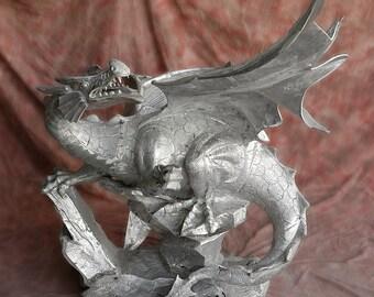 Aluminum Drago Statue