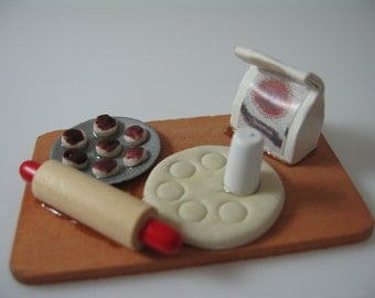 Miniature Pastry Making board
