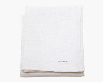 Dish towel Tilda linen - towel - white linen cloth - cloth-