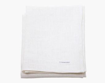 Dish towel Tilda made of high-quality linen - towel - white linen cloth - cloth-