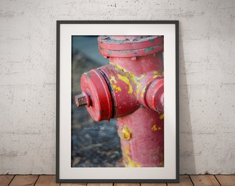 Architectural Photography, Art, Unique Photography, Wall Art, Fire Hydrant