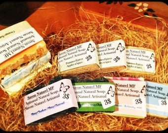 Natural Handmade soap bars (pure Olive/Coconut Oil)