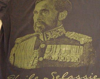 Vintage Haile Selassie Ethiopian Shirt