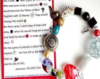 Individually Handmade Love Story Bracelet