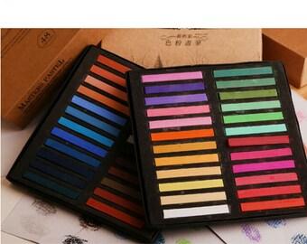 48 Colors/ Pcs Pastel Chalk
