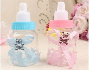 50 Pcs Baby Shower Gift Bottles