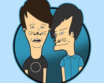 Phil and Dan-head - Tee