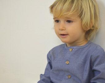 baby shirt in 100% organic cotton