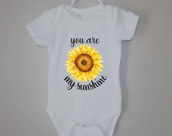 You Are My Sunshine Baby Onesie/Toddler Tee