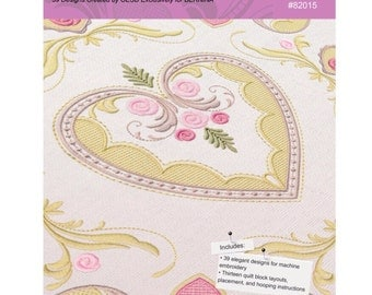 Beloved Heirlooms Embroidery Designs by BERNINA