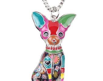 Cute Dog Pendant Necklace