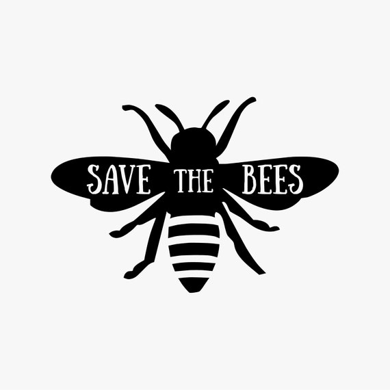 Save The Bees Vinyl Decal From Spectrumgraphicstn On