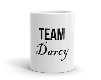 Team Darcy Jane Austen Pride & Prejudice Mug