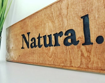 Carved Rustic Wood Sign Home Decor Wood Sign Natural Wood Sign Sayings Wall  Art Rustic Decor Part 84