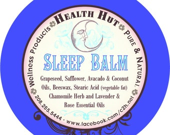 Sleep balm large 4oz tin