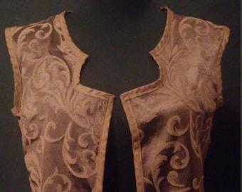 Gypsy cropped vest
