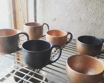 Micaceous Clay Cups