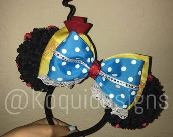 Old Minnie Mouse Ears - Traditional Minnie Mouse Ears - Minnie Mouse - Old Minnie Mouse - Orejas de Minnie - Minnie Ears - Mickey Ears
